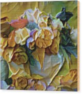 Bold Bouquet Wood Print