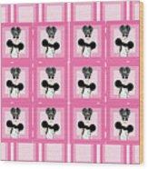 Bcg - June Pattern Wood Print