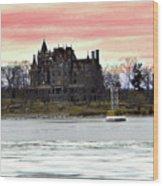 Boldt Castle 12  Wood Print