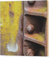 Bolted Iron Wood Print