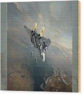 Bombcat Two Wood Print