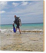 Bonaire Shore Diving 3 Wood Print
