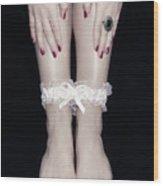Bonded Legs Wood Print by Joana Kruse