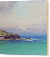 Bondi Beach Colours Wood Print
