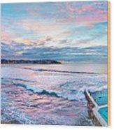 Bondi Beach Icebergs Wood Print