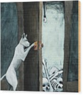 Bone Collector Wood Print