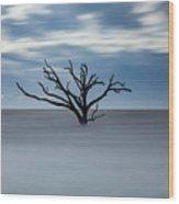 Boneyard #3 Wood Print