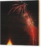Bonfire Night Wood Print