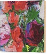 Bongart's Roses II Wood Print