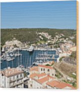 Bonifacio Harbor Wood Print