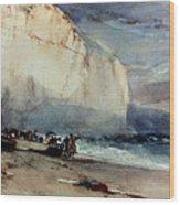 Bonington, Cliff, 1828 Wood Print