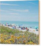 Bonita Beach Wood Print