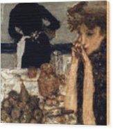 Bonnard: Breakfast, C1899 Wood Print