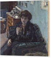 Bonnard: Lady, 19th C Wood Print
