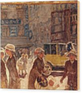 Bonnard: Place Clichy Wood Print