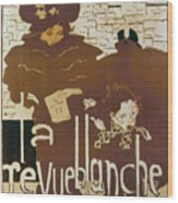 Bonnard Revue 1894 Wood Print