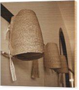 Bonnets Wood Print