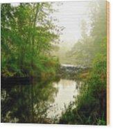 Bonneyville Mill Waterfall Wood Print