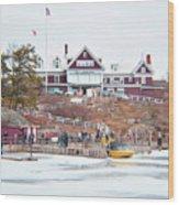 Bonnie Castle  Wood Print