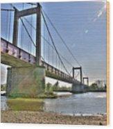 Bonny Bridge Wood Print