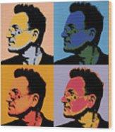 Bono Pop Panels Wood Print