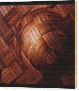 Booball Wood Print