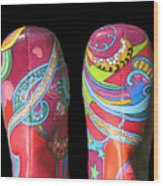 Boogie Shoes 2 Wood Print