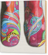 Boogie Shoes Wood Print