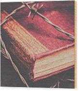 Book Of Secrets, High Security Wood Print