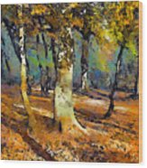 Booker Woods Wood Print