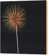 Boom 17 Wood Print