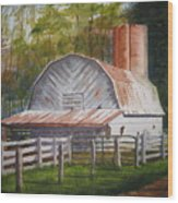 Boone Barn Wood Print