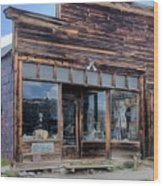 Boone Store And Warehouse Wood Print