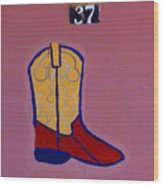 Boot 37 By Darian Day Wood Print