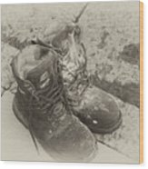 Boots Reno Wood Print