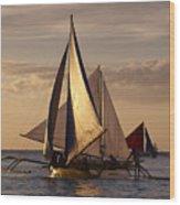 Boracay Philippines B 281 Wood Print