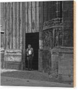 Bordeaux Church Door Wood Print