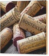 Bordeaux Wood Print