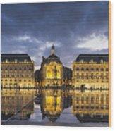 Bordeaux Place De La Bourse  Wood Print