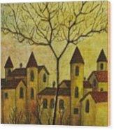 Borgo Antico Wood Print