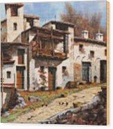 Borgo Di Montagna Wood Print