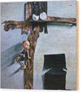 Born Again Wood Print