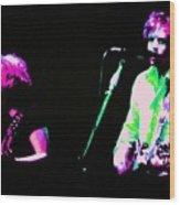 Grateful Dead - Born Cross Eyed Wood Print