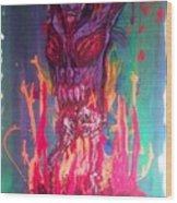 Born Of Fire Wood Print