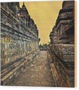 Borobudur Temple Wood Print