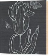 Botanique 4 Wood Print