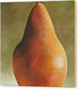 Bosc Pear Wood Print