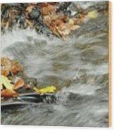 Boscobel Stream Wood Print