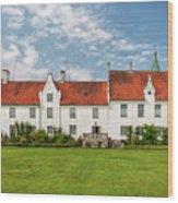 Bosjokloster Monastery Castle Facade Wood Print