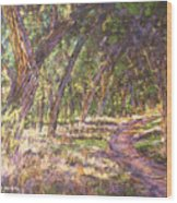 Bosque Light Wood Print